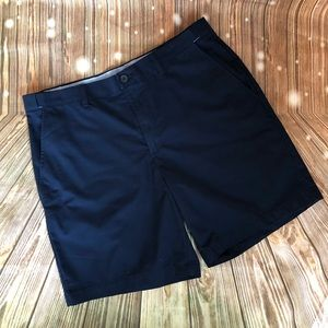 Croft & Barrow Navy Flat Front Shorts